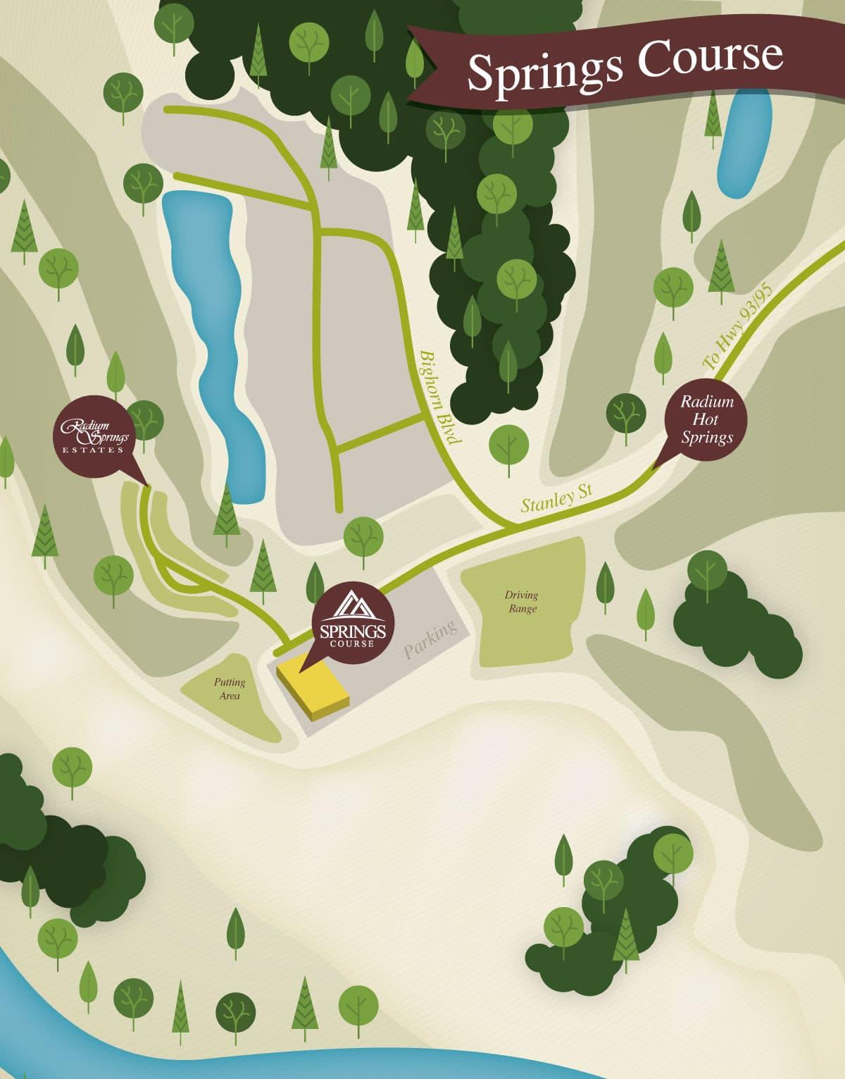 Springs-Map