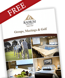 Radium Resort Groups and Meetings