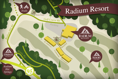 Radium Resort Course - 8100 Golf Course Road,  Radium Hot Springs, BC, Canada