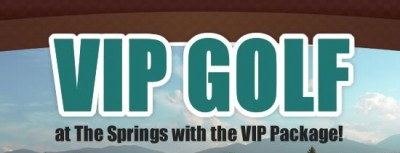 A VIP Golf Package at The Springs