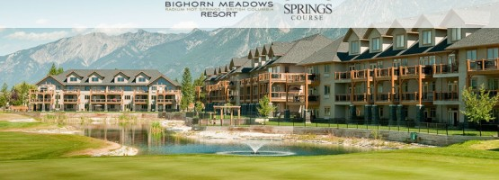 Stay at Bighorn Meadows. Play At The Springs and The Radium Courses