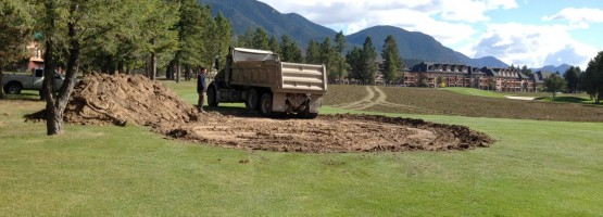 October 3 – Hole 9 – Click for more photos