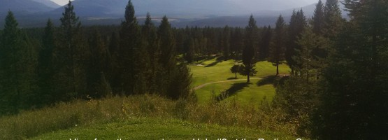 Now Open! Spectacular Upper Tee on the 2nd hole at the Radium Course